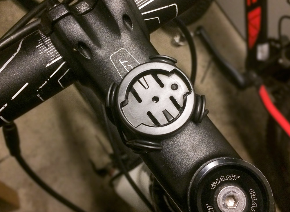 Garmin Edge mount on stem